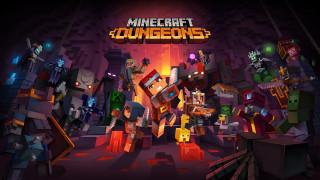Постер Minecraft: Dungeons